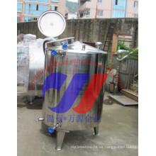 Tanque de mezclado de acero inoxidable de una sola capa