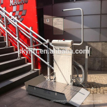 Hydraulic electric elderly lift for home