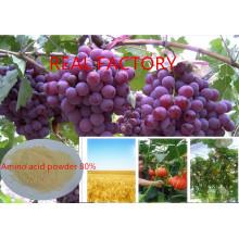 Zymolysis Amino Acid Powder 80% para Fertilizante Orgánico