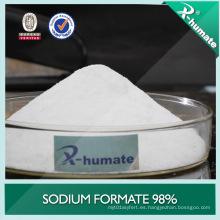 Procesamiento de cuero 98% Min Sodium Formate