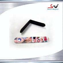 Papel de cobre não tóxico impresso-logotipo decoração pvc ímã