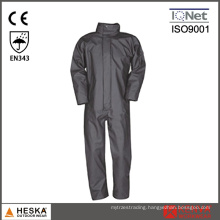 PU Polyester Men Work Coverall Rain Coverall