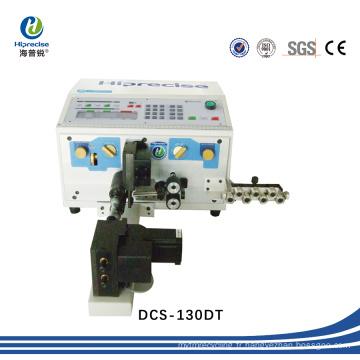 Machine automatique de coupe, de dénudage et de torsion