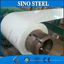 Folha galvanizada Prepainted de Ral9016 0.5mm PPGI revestido da cor