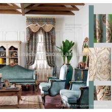 Chine gros rideau prêt-à-porter, rideau de contrôle à distance de conception royale
