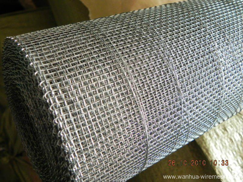 Intermediate Crimped Weave Crimped Wire Mesh