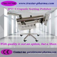 Polisher de cápsula totalmente automático para produtos farmacêuticos