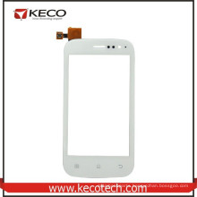 100% Tested Mobile Phone New Parts White Touch Screen Digitizer For Fly IQ442