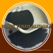 Price of Brown/Black Fused Alumina /black aluminium oxide powder