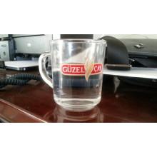 Кубок пивной кружки прозрачного стекла Cup-Kb-Hn0617