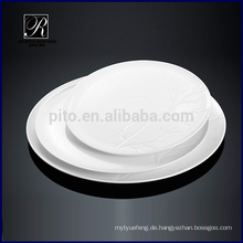 P & Tchaozhou Fabrik, runde Keramik Platte, Display-Platten mit Baum-Design