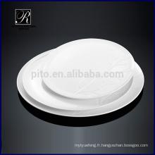 Usine de P & Tchaozhou, plaque de céramique ronde, plaques d'affichage avec conception d'arbre