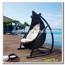 Audu Swing Rattan Wicker Chairs Hammock, Hanging Hammock