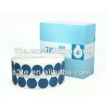 Tampons de blocage des lentilles adhérents à l'eau pour rayonnages de lentilles