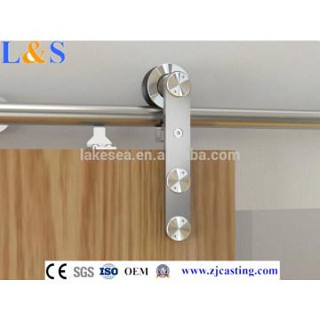 6.6FT hardware de la puerta de granero deslizante / sistema de puerta corredera / hardware de puerta deslizante suave cierre