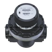 Zcheng Mechanical Display Oval Medidor de engrenagens para óleo, combustível, diesel Zcogm-a