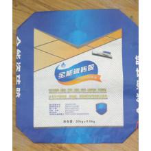 Sac de soupape en papier Kraft pour colle de tuiles Série 20kg