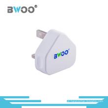 Hot Sale UK Plug Carregador de Viagem USB Único