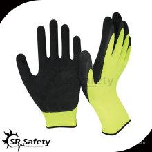 SRSAFETY 13G вязаная нейлоновая пена промышленности латексные перчатки фарфор лучшие