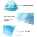 Werkseitige medizinische Gesichtsmaske mit direkter Versorgung