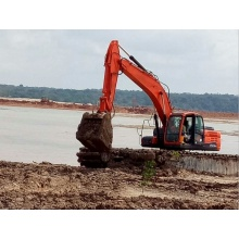 Amphibious Excavator Swamp Backhoe