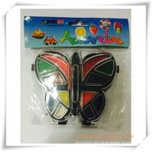 Set de pintura de acuarela de colores sólidos promocionales para regalo de promoción (OI33017)