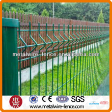hook style security wire mesh fence