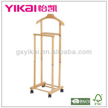 Functional Solid Wood Suite Valet Stand