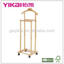 Функциональная стойка для сидения из массива дерева