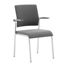 Chaises facultatives d'empilage de bureau de maille de couleur / chaise de réunion de maille