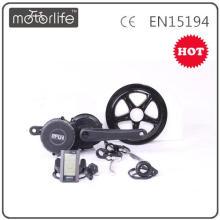 MOTORLIFE/OEM 36V250W bafang 8fun mid drive motor kit for ebike