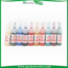 Getbetterlife Professional Safe 5ml 10colors Getbetterlife Brand Tattoo Ink Kit