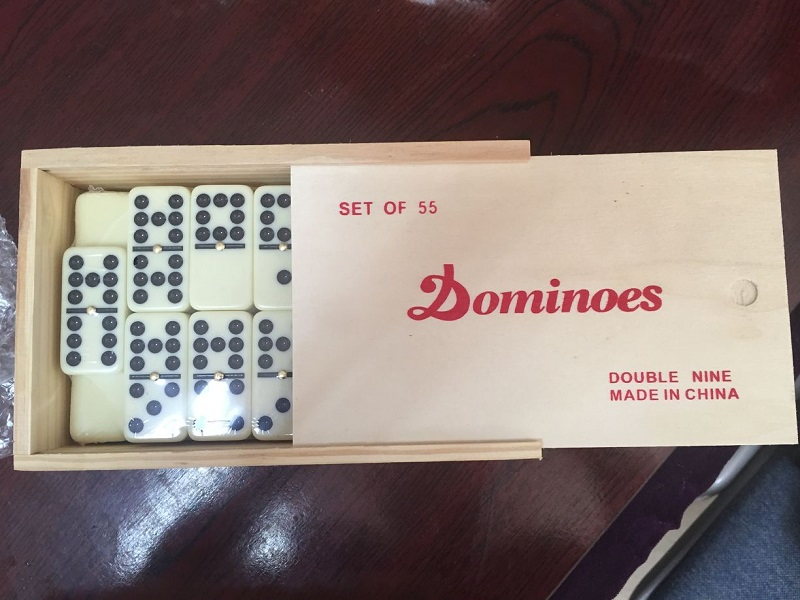 ivory dominoes