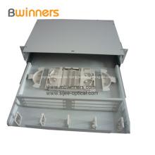 Cajón deslizante tipo caja de terminación de fibra óptica 24 puertos