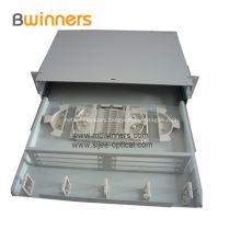 Sliding Drawer Type Fiber Optic Termination Box 24 Ports