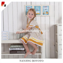 Boutique wholesale wheat embroidered clothing sets