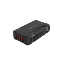 35 Watt 4 USB Port Portable/Desktop Fast Mobile Phone Charging Station,CB, FCC,RoHS