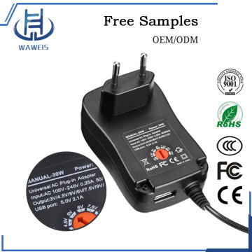 30w power adapter eu plug adapter in european