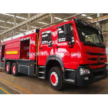 Howo Modern Fire And Rescue Vehicles Sprinkling Truck