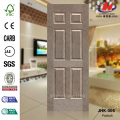 Six Panels  HDF Veneer Paddock Internal Door Panel