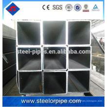 Pared gruesa cuadrada, rectangular, tubo de acero redondo tubo de acero