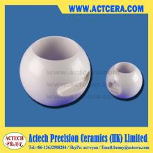Высокая точность обработки Dn25/Dn50 циркония керамические шаровые клапаны