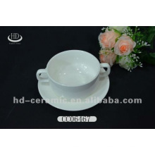 Cuenco de sopa de cerámica