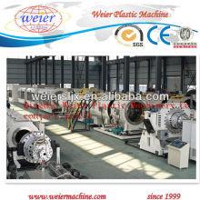 Certificado do CE com a máquina da tubulação do HDPE, tubulação do PP dos PP que faz a máquina