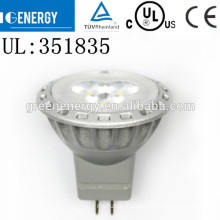 New arrival gu4 2w 4w led spotlight TUV CE mr11 24v 5w