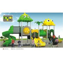 B10204 Aire de jeux pour enfants moins chères, toboggans en plastique extérieurs