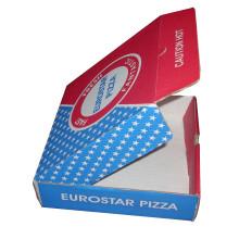 Mostrar caja de pizza de papel con precio barato