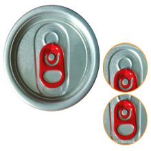 200 50mm Red Tab Sot Tapas de Aluminio