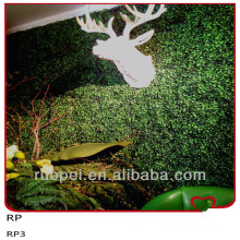China Indoor Decorative Artificial Boxwood Hedge / Artificial green wall