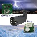 Aquecedor da lente da câmera 5-50mm da CCTV AHD da visão nocturna da longa distância e relâmpago-prova
